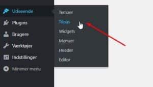 Hvordan opretter jeg menu i WordPress?