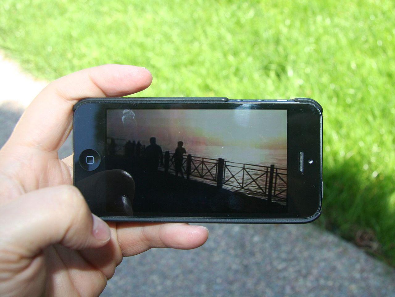 Afspilning af video på mobil