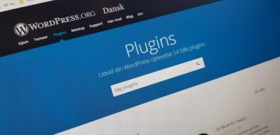 Plugins repository på wordpress.org