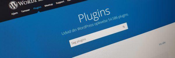 Plugins repository på wordpress.org
