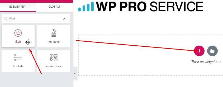 Wp pro place icon element