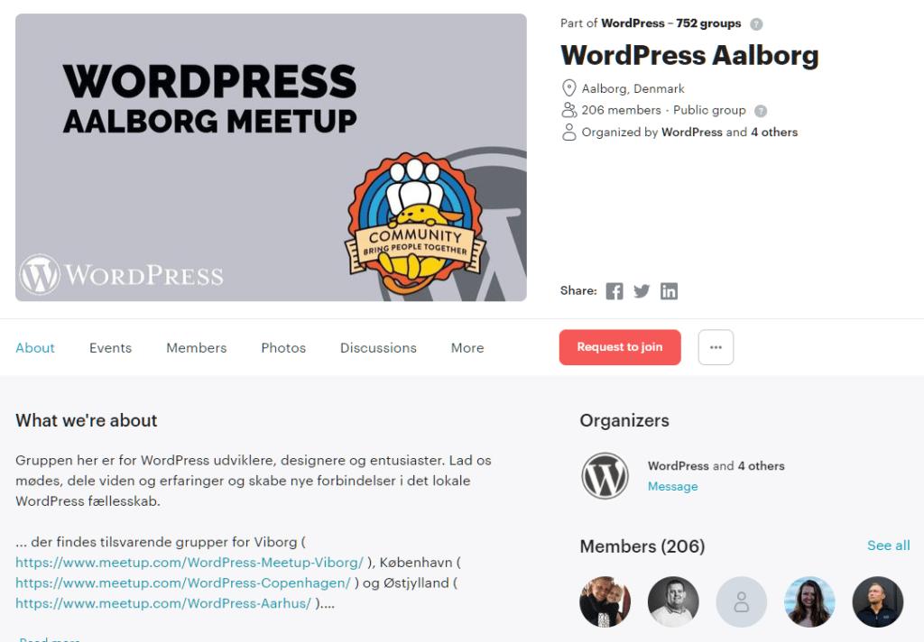 Wordpress aalborg meetup